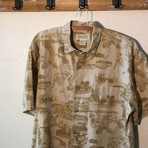 Vtg Banana Republic Safari Shirt